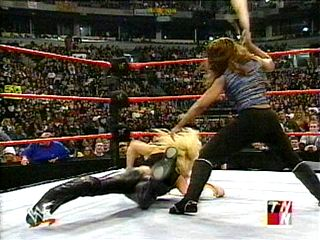 damn!!! trish got her ass beat that night by jackie!!