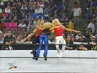 trish takes down the wcw bitches!