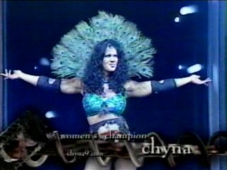 chyna coming out to face lita at judgement day!