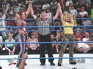 lita and trish  (the winnerz)