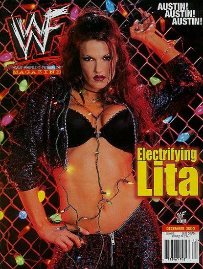 lita making her first magazine debut