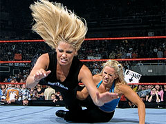 trish gettin' her ass kicked by molly!
